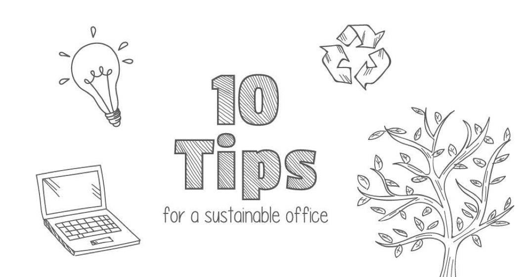 10 tips for a sustainable office