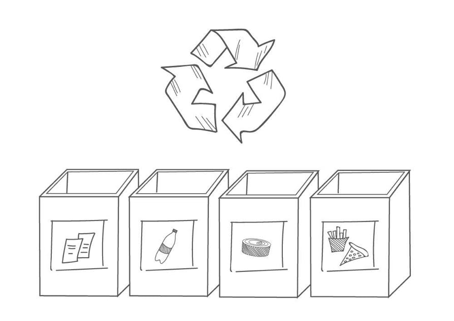 recycle for a sustainable office