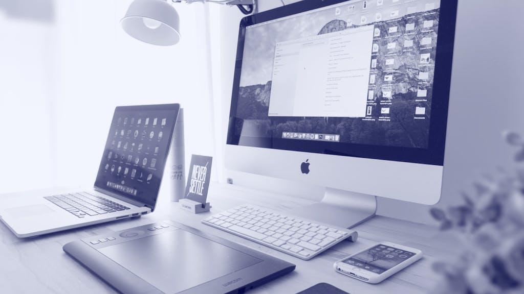 Computer, Lap Top und Tablet
